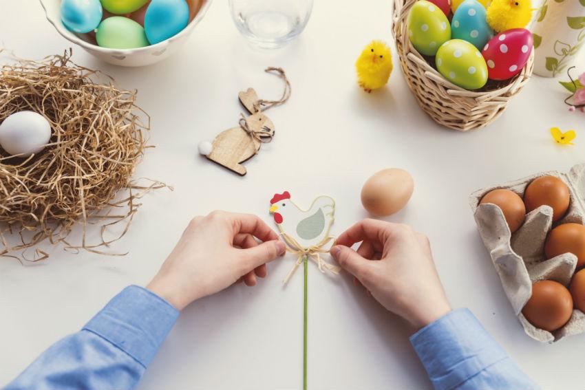 pyssla under påsk