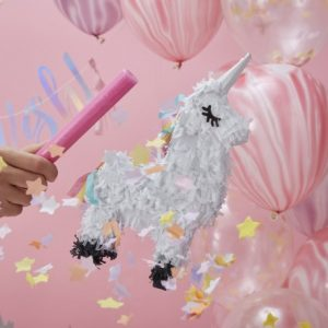 unicorn wishes, mini piñata