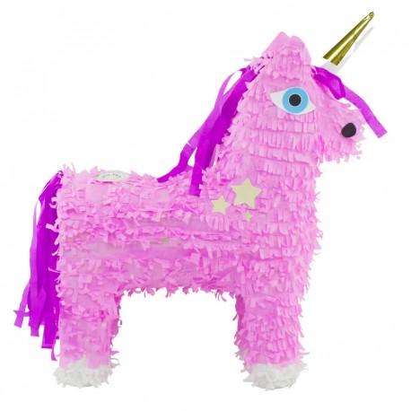 enhörning, rosa piñata