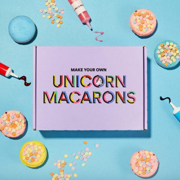 Enhörning Macarons