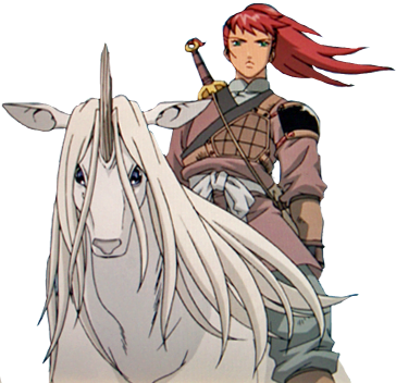 Keiki och Yoko. The Twelve Kingdoms, unicorn böcker