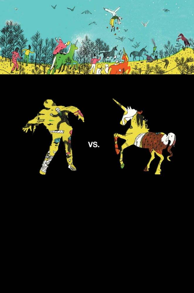 Unicorns vs Zombies, unicorn böcker