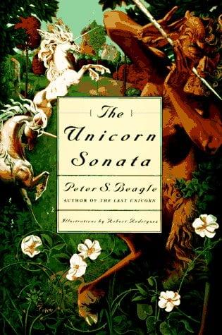 The Unicorn Sonata, unicorn böcker