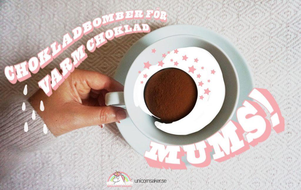 Chokladbomber jul choklad