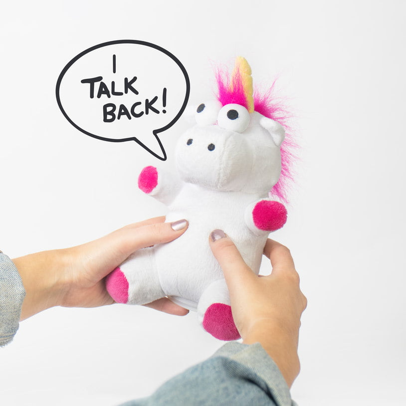 Talk-Back Unicorn gosedjur jul