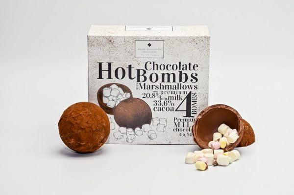 chokladbomber för varm choklad